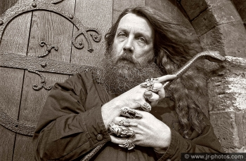 Writer Alan Moore