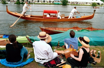 Gondola at Henley Royal Regatta