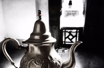 Mint tea in Marrakech