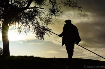 Mistletoe farmer Mark Adams, Worcestershire