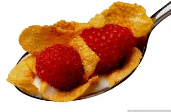 Raspberries for breakfast