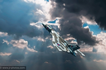 The last flying Vulcan-XH558