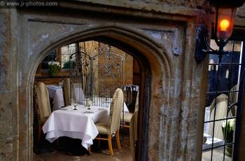 Equilibrium restaurant, Fawsley Hall