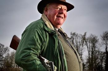 Coal miner turned businessman John Parton, Tenbury Wells