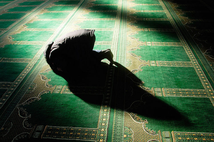 Muslim at prayer