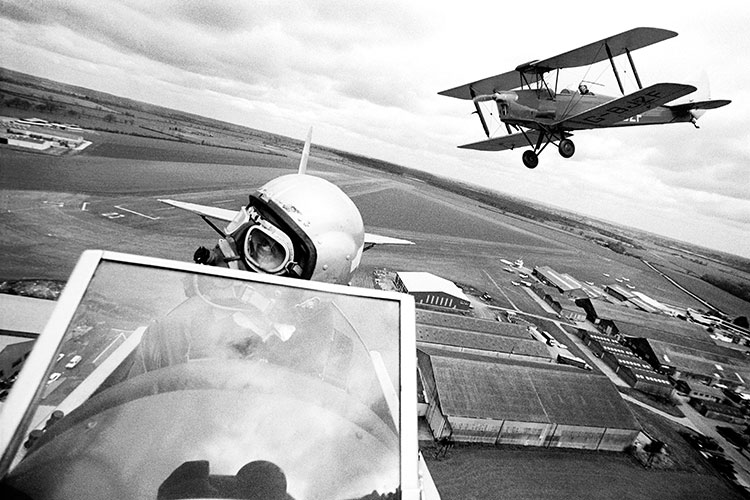 Tiger Moths over Sywell