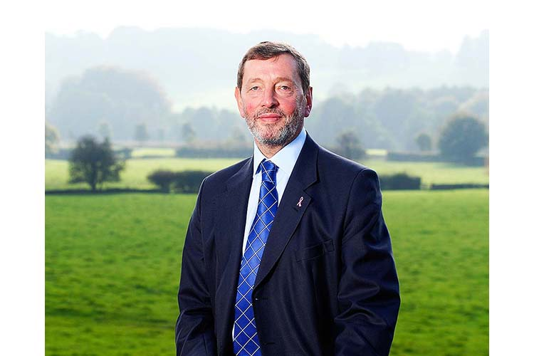 British Labour Party politician & former Home Secretary, David Blunkett.